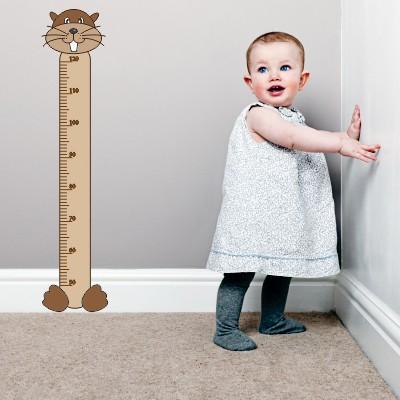 Otroška stenska nalepka - Merilni trak