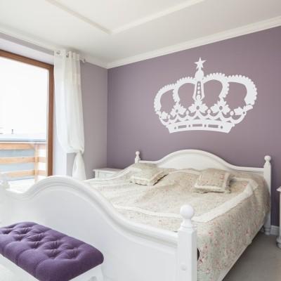 Otroška stenska nalepka - Princeskina krona