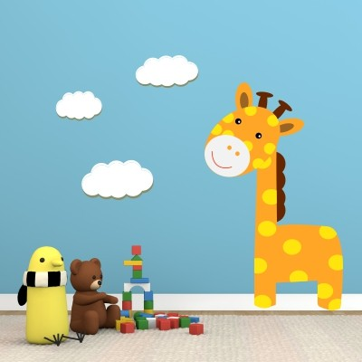 Otroška stenska nalepka - Žirafa