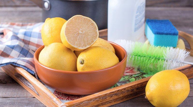Limona kot naravno čistilo