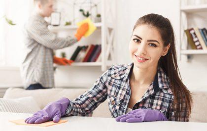 Spomladansko čiščenje doma