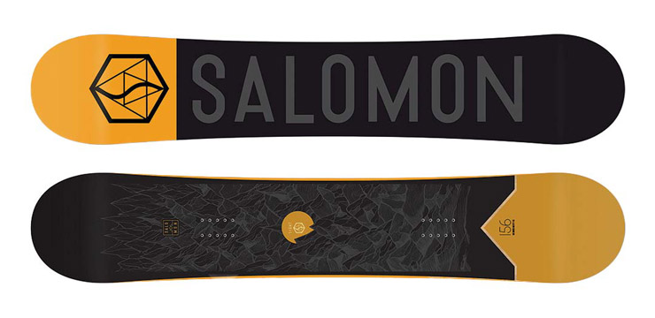 All mountain snowboard Salomon Sight