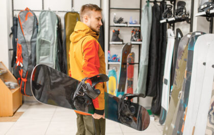 Izbira snowboard deske