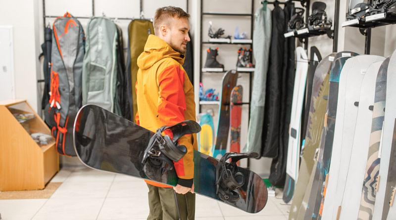 Izbira snowboard deske: tip in dolžina