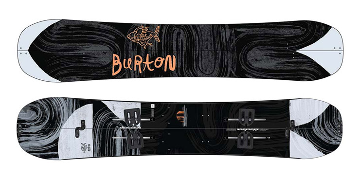Split snowboard Burton Flight Attendant